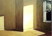 Edward Hopper 1963 - Sol en una habitación vacía